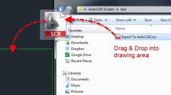 AutoCAD скриптове, създаване