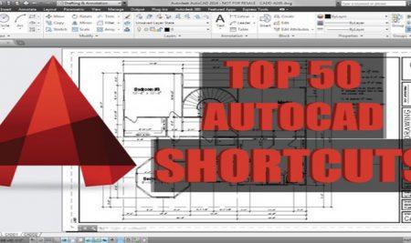 AutoCAD Shortcuts (Полезни клавишни комбинации)