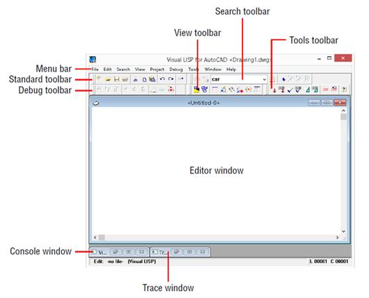 Visual LISP автоматизaция AutoCAD
