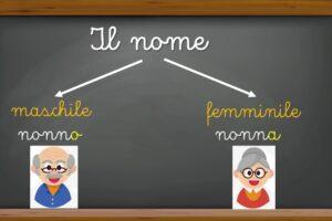 Италиански език - съществително име (Il sostantivo o nome)